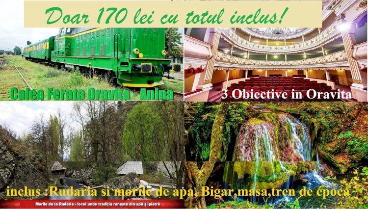 Oravita-Anina-Bigar-Rudaria o zi in Banatul montan.